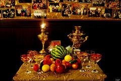 Yalda 1 (Poria) Tags: light food table gold golden long exposure view shot iran indoor persia tradition