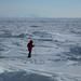 Michelle sobre o Mar de Okhotsk