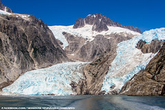 Northwestern Glacier (SeriouslyFunny Photography) Tags: ocean park ice nature water alaska bay glacier anchorage national change inlet fjord northwestern anc climate warming seward kenai fjords global
