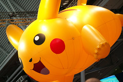 Giant Pikachu 1 (raystrazdas) Tags: street game boston harbor video kirby fighter force outdoor lol massachusetts sony nintendo games east adventure gaming virtual legends pikachu pokemon reality pax playstation epic league vr federation ryu metroid
