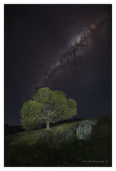 Tilba Tilba - NSW (twistednoodle) Tags: lightpainting church composite night milkyway tilbatilba narooma