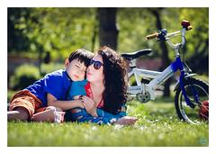 enjoying-spring-time-2016 (vikbik) Tags: blue sun sunlight green love grass bike spring nikon outdoor mother 100mm tokina enjoy motherchild enjoyment skopje vikbik