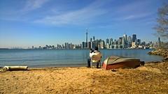 Enjoy The View (digital_lightexpress) Tags: lake seascape toronto beach view lakeontario torontoskyline wardisland