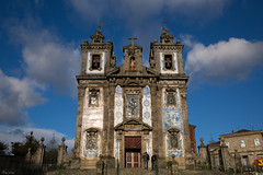 Church of Saint Ildefonso (Ming_Young) Tags: travel sky cloud portugal architecture cathedral porto  igrejadesantoildefonso churchofsaintildefonso