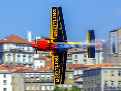 Speeding... RedBull AirRace 2007 Oporto... [Porto, Portugal - 2007] (Jose Constantino Gallery) Tags: portugal porto redbull speeding oporto rebullairrace