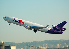 FEDEX MD-11 N529FE (Adrian.Kissane) Tags: cargo lax fedex md11 48624 n529fe