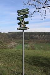 113-366, Unterwegs (julia_HalleFotoFan) Tags: thringen wegweiser creuzburg werratal