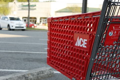 ACE (dvn225) Tags: retail canon virginia hardwarestore store ace shoppingcart canonrebel hampton