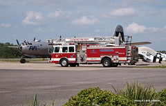 160330_05_Fifi (AgentADQ) Tags: airport florida aircraft aviation firetruck international leesburg boeing fifi b29 superfortress