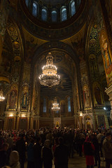 . -  Celebrating Easter in Novocherkassk Patriarchal Cathedral. (golovanov.sergey) Tags: