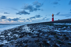 Westkapelle lighthouse (Michael Echteld) Tags: blue lighthouse beach netherlands point evening coast view availablelight sony low zeeland fullframe walcheren domburg a7ii sonyalpha sonyalpha7ii michaelechteldphotography