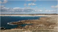 Cte sauvage de la Pointe de la Torche (Solne O) Tags: sea mer seascape france de landscape la dune bretagne cte breizh pointe cote plage rocher quimper finistre sauvage torche pointedelatorche