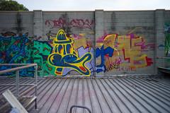 (th3butcherofbilbao) Tags: street leica art abandoned melbourne caper togs rashe