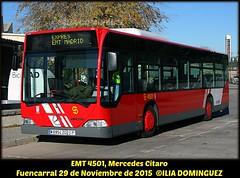 idnb1183-EMT4501 (ribot85) Tags: bus mercedes benz coach crt autobus emt autobuses fuencarral citaro 4501 crtm emtmadrid emt4501 m6954zg
