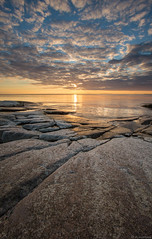 Calm_sea (JLindroos) Tags: summer rock clouds canon finland colorful horizon calm lee filters pori kallo jlindroos