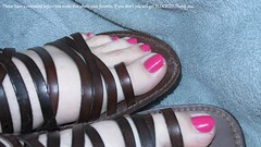 Rimmel | Posh Pink (markrudolph203) Tags: man color colour male guy toes toe nail polish dude nails toenail enamel rimmel poshpink