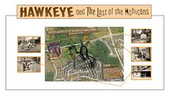 "60 YEARS AGO ::: HOLLYWOOD comes NORTH for the FIRST TIME  with  ""HAWKEYE and The LAST of the MOHICANS"" ::: (Paul Cardin (Never Was An Arrow)) Tags: canada streetsville pickeringontario hawkeyefirstofthelongrifles hawkeyeandthelastofthemohicanstvshow chingachkook jamesdoohanscottystartrek johnhartthelonerangercaptainafricaandlonchaneyjrthewolfmanandotherhollywoodmonsters berylbraithwaite televisionprogramsofamericatpa 60yearsagohollywoodcomesnorthforthefirsttime claytonself deckershill hawkeyeandthelastofthemohicans"