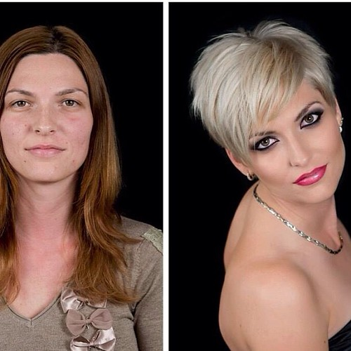 Short Hairstyles And Makeovers S Most Interesting Flickr