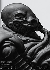 SPACEJOCKEY50 (sith_fire30) Tags: sculpture art studio photography action space alien egg aves silo jockey figure custom derelict biomechanical giger hrgiger prometheus facehugger nostromo fixit chestburster sithfire30