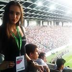 Tekma NK Olimpija Ljubljana - Chelsea Football Club, 27.07.2014. Hostese Agencija 22