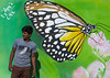 man in front of a painted butterfly on a wall, Hormozgan, Bandar Abbas, Iran (Eric Lafforgue) Tags: street travel people urban man flower men art tourism horizontal wall illustration butterfly painting outdoors photography graffiti asia iran persia daytime adultsonly oneperson lookingaway middleeastern persiangulf bandarabbas menonly youngadultman hormozgan إيران onemanonly waistup иран 1people イラン irão straitofhormuz 伊朗 colourpicture 이란 iran034i1762