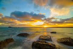 O premier rayon de soleil (jamyremich) Tags: sea nature sunrise landscape sony tokina hoya cherbourg expositionlongue nd1000 a7r 1116mm