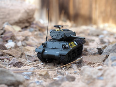 U.S. M10 Tank Destroyer (PanzerVor) Tags: france scale us tank wwii destroyer ww2 wolverine 1944 m10 172 diecast