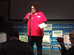 0216_Martese@SC Labor for Bernie_2961 (National Nurses United) Tags: southcarolina feelthebern nurses4bernie labor4bernie berniebus