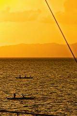 Fishing at Dawn (edwin.canlapan) Tags: sunrise dawn fishing philippines tabaco albay