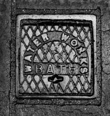 BATH WATER WORKS (Ray Crabb) Tags: england mono bath iron somerset waterworks