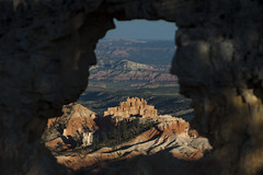 The Window View: Bryce Canyon National Park (Life_After_Death - Shannon Day) Tags: life park blue red orange mountain mountains art window yellow canon landscape outdoors photography eos death gold utah nationalpark heaven day desert time outdoor pastel stripes stripe canyon erosion shannon national layer after hoodoo bryce dslr canondslr canoneos canyons striped hoodoos striated erode striation layered brycecanyonnationalpark lifeafterdeath 50d shannonday canoneos50d eosdslr canoneos50ddslr lifeafterdeathstudios lifeafterdeathphotography shannondayphotography shannondaylifeafterdeath lifeafterdeathstudiosartandphotography shannondayartandphotography
