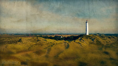 watch the view (silviaON) Tags: lighthouse landscape denmark textured flypaper