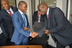 Cabinet Secretary, Ministry of ICT tours the ICT Authority