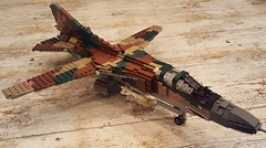 Mikoyan-Gurevich MiG-23M Flogger-B - 2 (Kenneth-V) Tags: cold scale plane airplane model war fighter lego aircraft aviation military air indoor planes finished flogger airforce russian mig 136 gurevich mikoyan mig23 moc floggerb mig23m