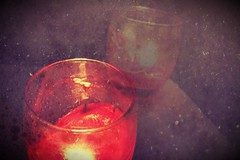 candele schiuma (sofia.0712) Tags: red candle foam mystic