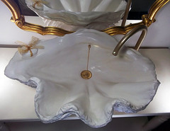 Gold Sink 9 (LittleGems AR) Tags: ocean sea sculpture sun beach home statue stone giant bathroom shower gold aquarium soap sand bath crystals hand contemporary unique decorative shell craft style toilet towel clam basin special clean shampoo taps wash ornament gift present pearl reef spa figures gems opulent gem fossils oneoff clamshell mollusks cloakroom bespoke personalised tridacna sculpt crafted gigas facetowel