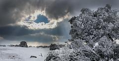 Parnitha Mountain (iliass.gr) Tags: snow clouds greece winder parnitha