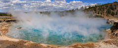 ExcelsiorCrater (slarsen327) Tags: landscape spring outdoor steam crater yellowstone wyoming geyser hotspring excelsiorcrater