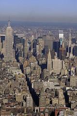 NYC View from Top of WTC (Fenfotos) Tags: nyc ny newyork film cityscape manhattan worldtradecenter velvia nyny fujichrome urbanphotography nycphotography cityscapephotography