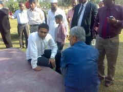 Sufi Faruq Ibne Abubakar with Mentor Quamrul Islam Siddique