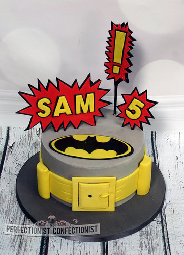 Phenomenal Sam Batman Birthday Cake A Photo On Flickriver Funny Birthday Cards Online Bapapcheapnameinfo