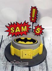 Sam - Batman Birthday Cake (PerfectionistConfectionist) Tags: weddingcake birthdaycakes christeningcake batmancake batmanbirthdaycake namingdaycake comicbookherocake cakekinsealy cakemalahidecakeswords