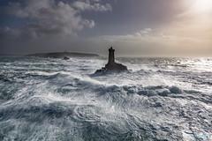End of the world (Ronan Follic photographies) Tags: sea mer lighthouse seascape storm canon eos brittany wave bretagne breizh vague phare bzh 6d tempte finistere ruzika ronanfollic
