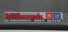 G955 SRA (2) (Nivek.Old.Gold) Tags: nova sting aca 12 1990 vauxhall wirksworth 3door millwards