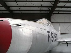 "Republic F-84 Thunderjet 8 • <a style=""font-size:0.8em;"" href=""http://www.flickr.com/photos/81723459@N04/24723362386/"" target=""_blank"">View on Flickr</a>"