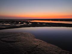 (Y.P. Jhou) Tags: sunset sea sky beach twilight colorful taiwan seashore