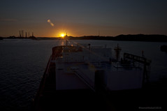Bow Atlantic (Rhannel Alaba) Tags: sunset brazil sunrise nikon atlantic bow d90 pido alaba odfjell aratu rhannel