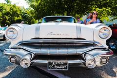 1956 Pontiac patina (hz536n/George Thomas) Tags: summer michigan august canon5d pontiac flint patina ef1740mmf4lusm 2013 cs5 backtothebricks
