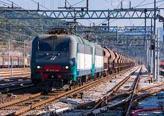 405 021 + 405 031 (atropo8) Tags: italy train nikon merci zug cargo treno freight monfalcone trenitalia opicina cereali d810 405031 405021