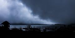 Dark Clouds above Danau Beratan (Fenchel & Janisch) Tags: bali silhouette indonesia island pura darkclouds ulun danu beratan puraulundanuberatan